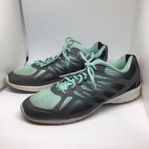 Fila blue grey sneakers girls size 4
